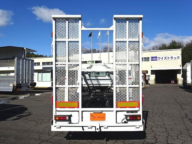 三菱 H20 キャンター 花見台 2台積み キャリアカー 画像7