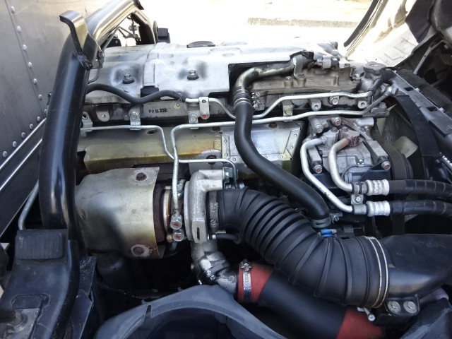 三菱 H20 キャンター 標準ロング アルミバン4WD 画像21