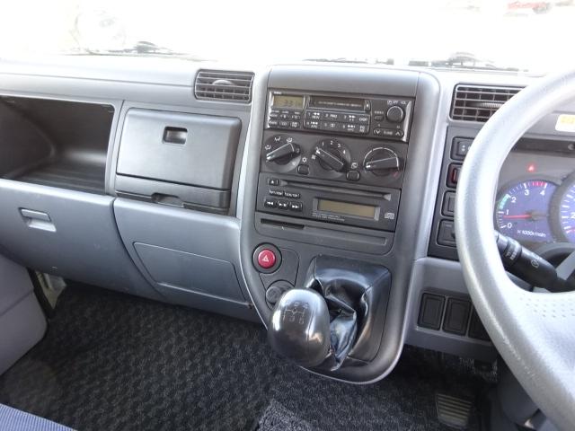 三菱 H20 キャンター 標準ロング アルミバン4WD 画像25