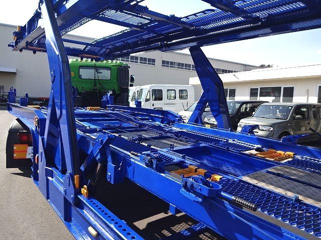 その他 H21 ハマナ 5台積みセミトレーラ エアサス 画像9