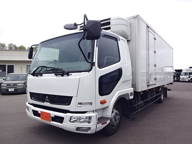三菱 H24 ファイター フルワイド低温冷凍車 格納PG 画像1