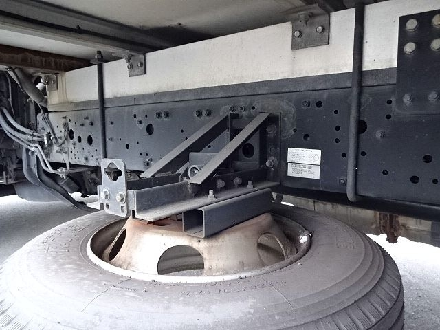 三菱 H24 ファイター フルワイド低温冷凍車 格納PG 画像17