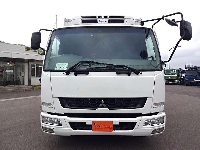 三菱 H24 ファイター フルワイド低温冷凍車 格納PG 画像2