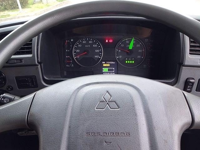 三菱 H24 ファイター フルワイド低温冷凍車 格納PG 画像20