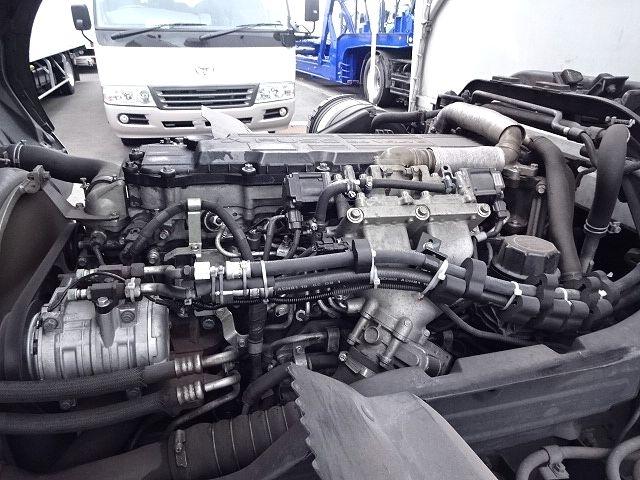 三菱 H24 ファイター フルワイド低温冷凍車 格納PG 画像28