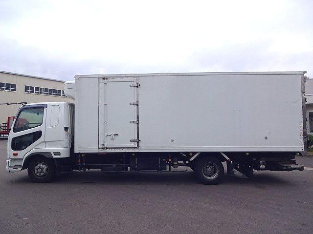 三菱 H24 ファイター フルワイド低温冷凍車 格納PG 画像4
