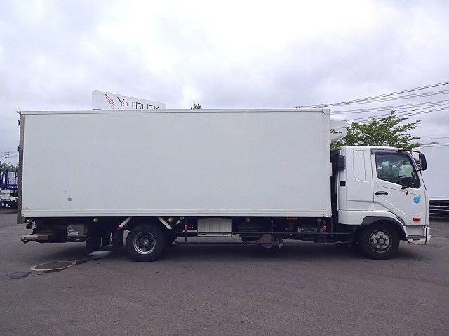 三菱 H24 ファイター フルワイド低温冷凍車 格納PG 画像5