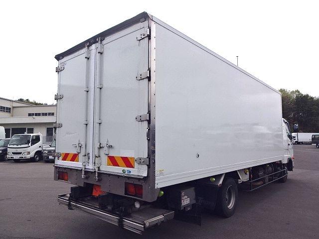 三菱 H24 ファイター フルワイド低温冷凍車 格納PG 画像9