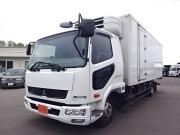三菱 H24 ファイター フルワイド低温冷凍車 格納PG