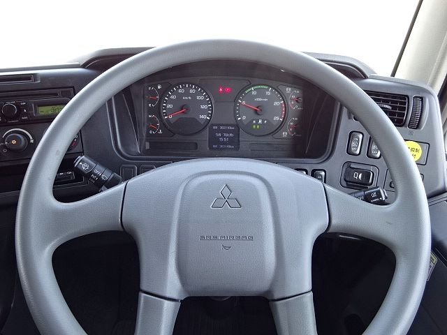 三菱 H24 スーパーグレート 3軸冷凍車 サイド観音扉 画像23