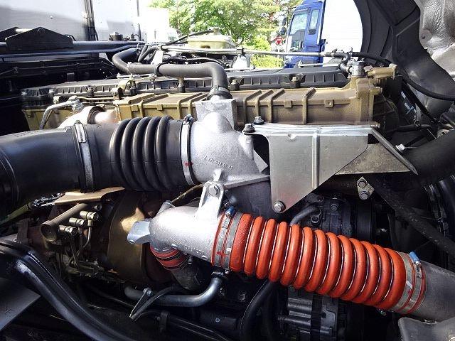 三菱 H24 スーパーグレート 3軸冷凍車 サイド観音扉 画像29