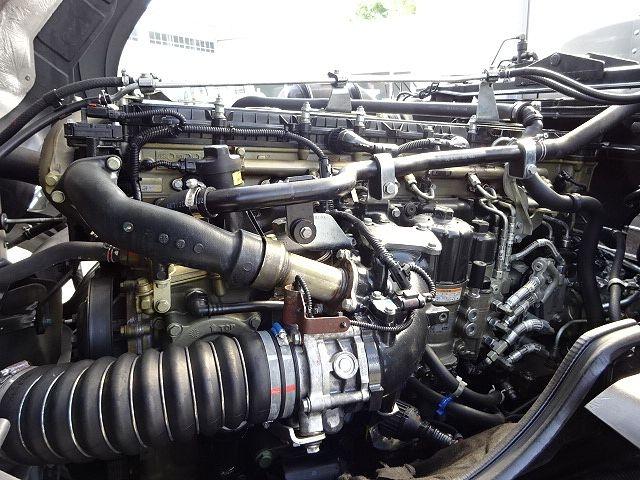 三菱 H24 スーパーグレート 3軸冷凍車 サイド観音扉 画像30