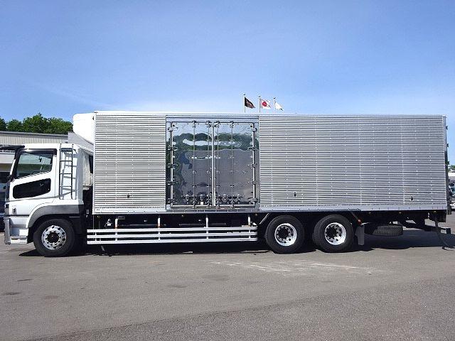三菱 H24 スーパーグレート 3軸冷凍車 サイド観音扉 画像4