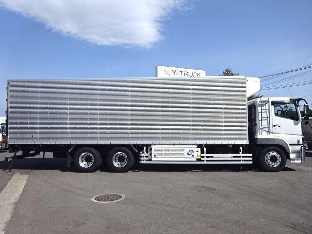 三菱 H24 スーパーグレート 3軸冷凍車 サイド観音扉 画像5