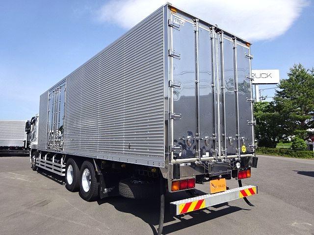 三菱 H24 スーパーグレート 3軸冷凍車 サイド観音扉 画像6