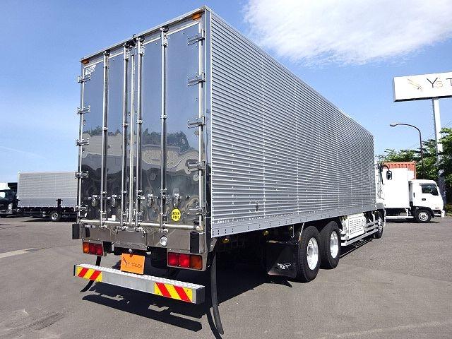 三菱 H24 スーパーグレート 3軸冷凍車 サイド観音扉 画像8