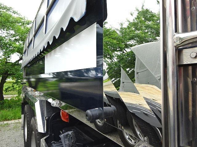 いすゞ H27 ギガ ダンプ 入庫準備中 画像15