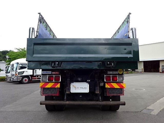 いすゞ H23 ギガ ダンプ 5.3x2.3 積載9.3t 画像8