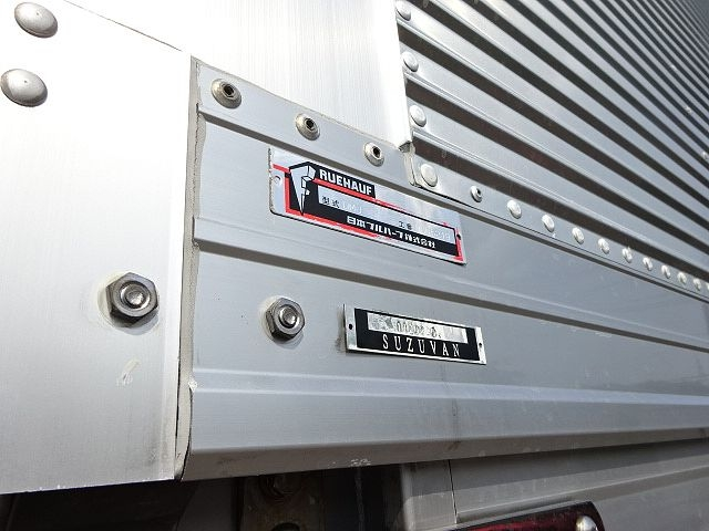 三菱 H23 スーパーグレート 冷凍ウィング キーストン 画像6
