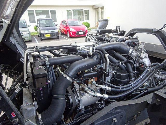 いすゞ H29 フォワード フルワイド低温冷凍車 格納PG 画像30