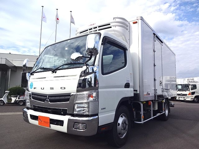 三菱 H26 キャンター ワイドロング 冷凍車 格納PG 画像1