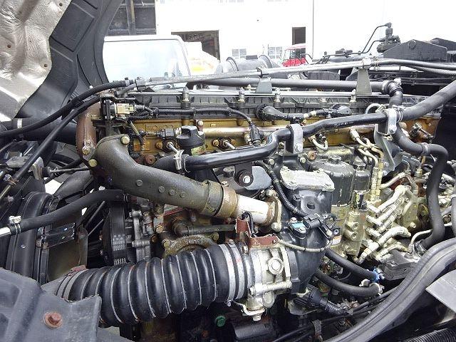 三菱 H22 スーパーグレート 4軸冷凍車 キーストン 画像27