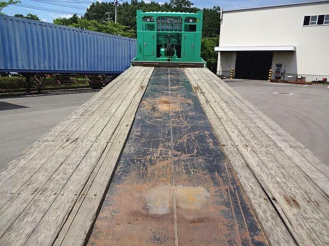 日野 H27プロフィア 4軸低床セルフローダー 自動歩み 画像13