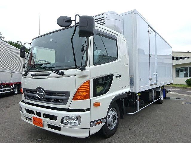 日野 H29 レンジャー フルワイド低温冷凍車 格納PG 画像1