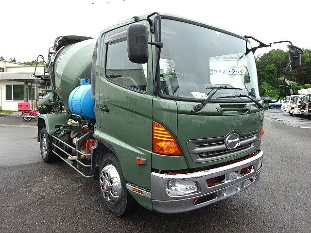 日野 H16 レンジャー 増トン コンクリートミキサー 画像3