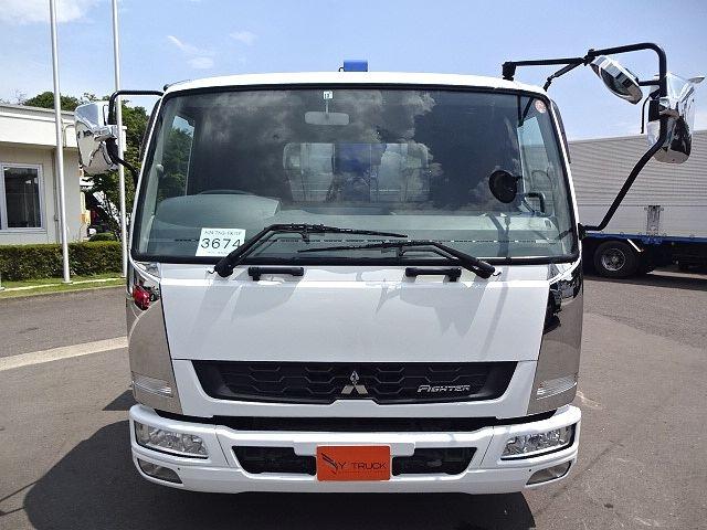 三菱 H24 ファイター フルワイド 平 4段クレーン★ 画像2