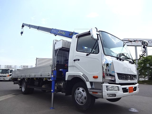 三菱 H24 ファイター フルワイド 平 4段クレーン★ 画像3