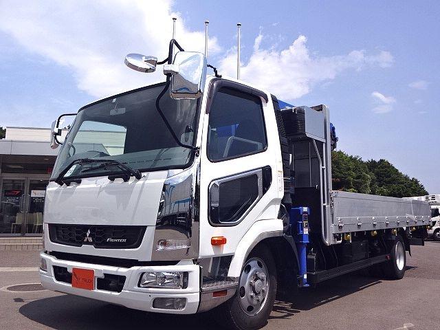 三菱 H24 ファイター フルワイド 平 4段クレーン★ 画像4