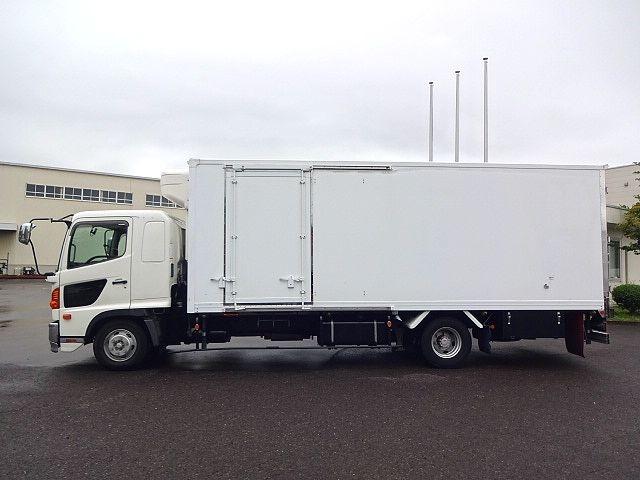 日野 H22 レンジャー 低温冷凍車 サイド扉 エアサス 画像4