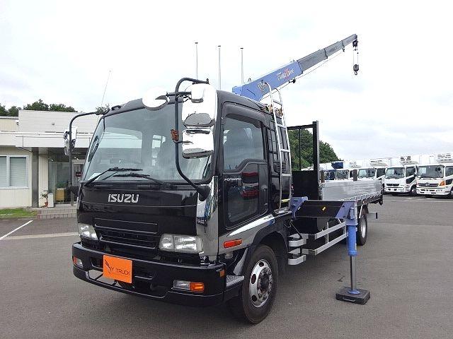 いすゞ H19 フォワード 増トン 平 4段クレーン ★ 画像1