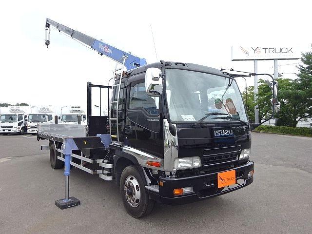 いすゞ H19 フォワード 増トン 平 4段クレーン ★ 画像3