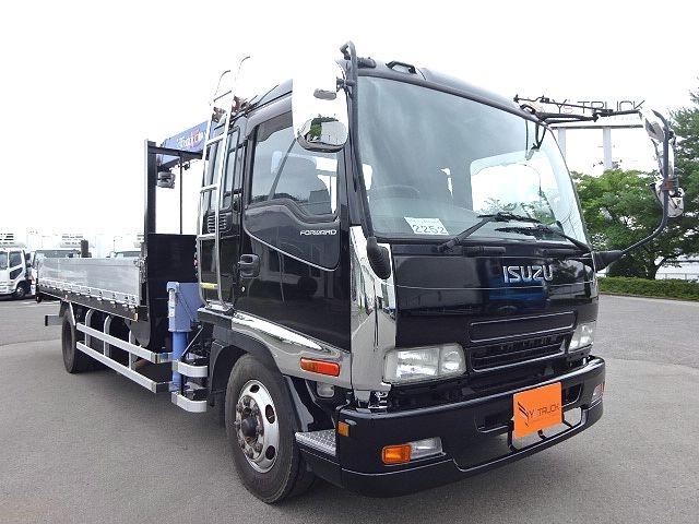 いすゞ H19 フォワード 増トン 平 4段クレーン ★ 画像5