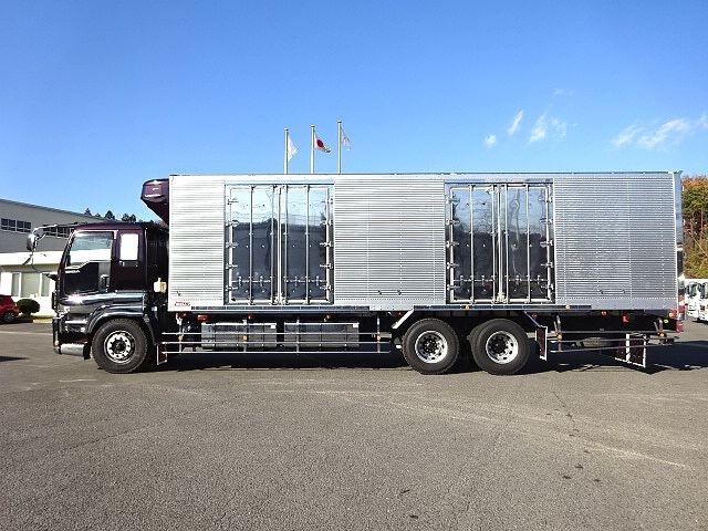 いすゞ H24 ギガ 低温冷凍車 キーストン ジョルダー 画像4