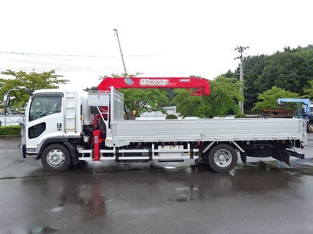 いすゞ H19 フォワード 増トン 平 5段クレーン 画像4