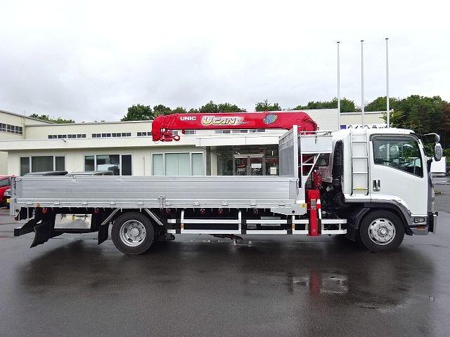 いすゞ H19 フォワード 増トン 平 5段クレーン 画像5