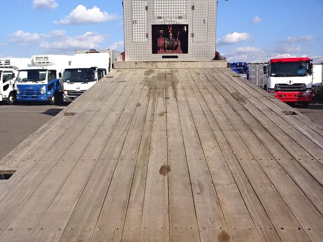 日野 H27プロフィア 3軸低床セルフローダー 自動歩み 画像12