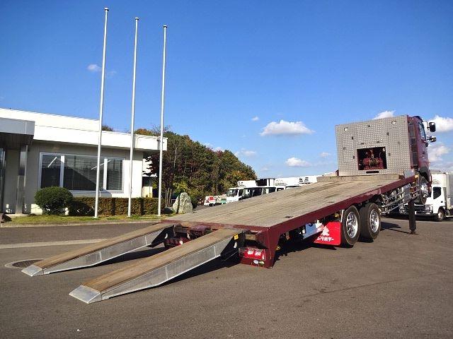 日野 H27プロフィア 3軸低床セルフローダー 自動歩み 画像15