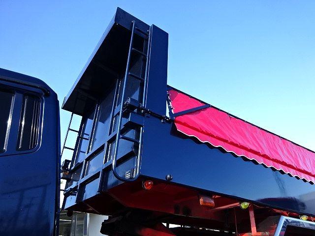 三菱 H23 スーパーグレート ダンプ ナンバー付き  画像6