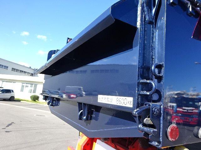 三菱 H23 スーパーグレート ダンプ ナンバー付き  画像13