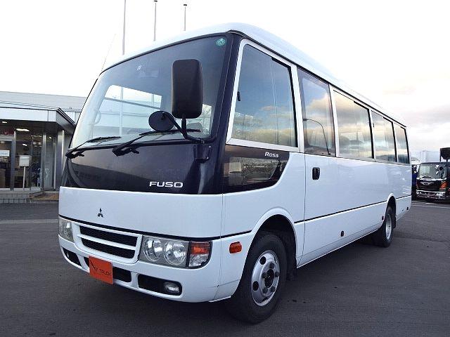 三菱 H21 ローザ 4WD マイクロバス 29人乗り★ 画像1