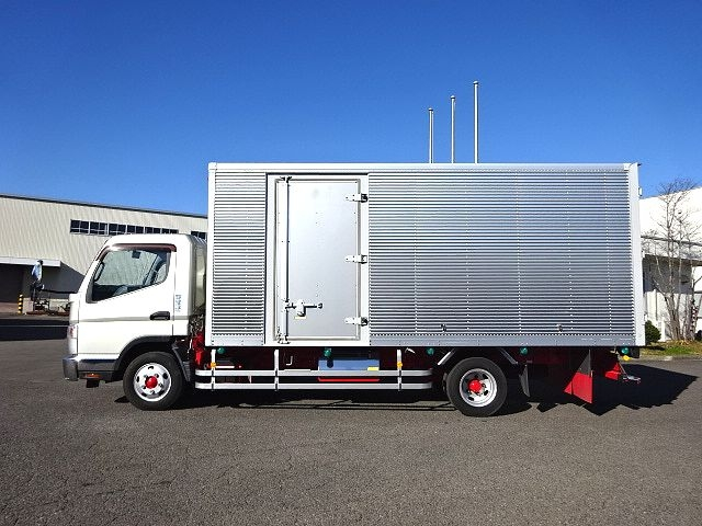 三菱 H23 キャンター ワイド ロング アルミバン 画像4