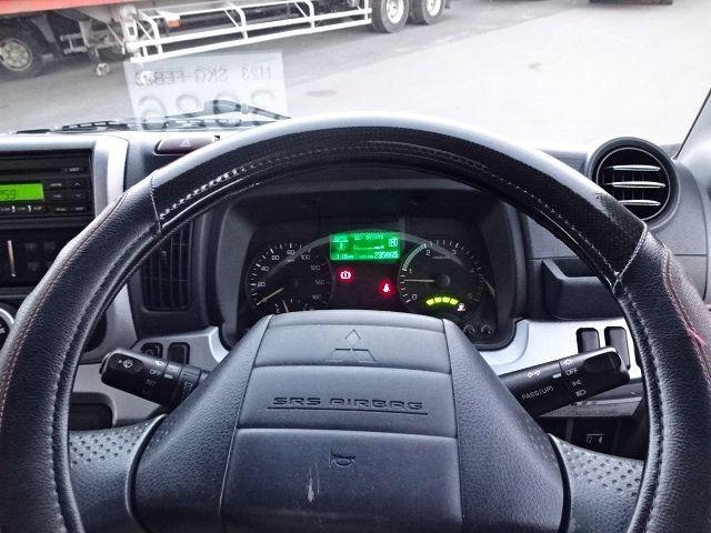 三菱 H23 キャンター カスタム ワイドロング 冷凍車 画像21