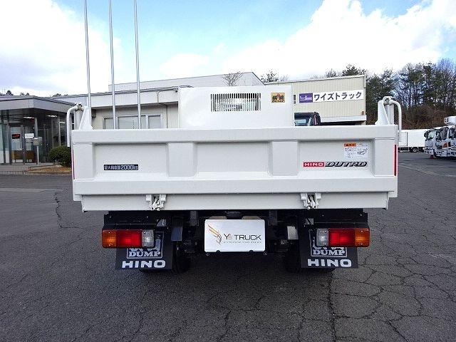 日野 H30 デュトロ 強化ダンプ 未使用車 画像8