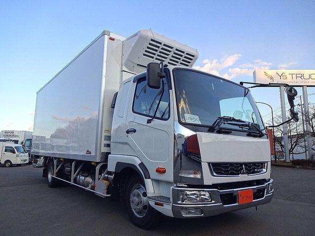 三菱 H30 ファイター フルワイド低温冷凍車 格納PG 画像3