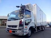 三菱 H30 ファイター フルワイド低温冷凍車 格納PG