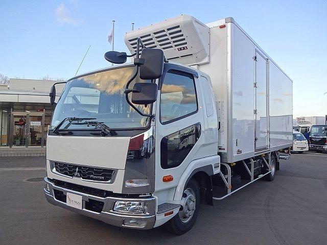 三菱 H30 ファイター フルワイド低温冷凍車 格納PG 画像1